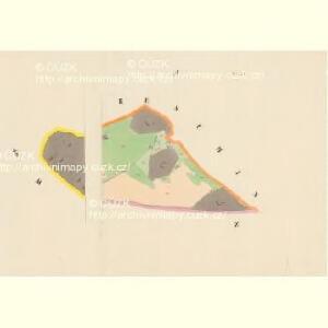 Trzitesch - c6467-2-008 - Kaiserpflichtexemplar der Landkarten des stabilen Katasters