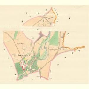 Ober Langendorf (Hornj Laucka) - m0774-1-003 - Kaiserpflichtexemplar der Landkarten des stabilen Katasters