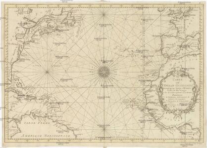 CARTE DE L'OCEAN OCCIDENTAL