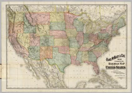 Railroad Map Of The United States.