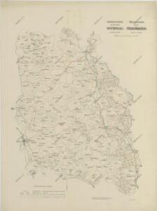 Přehledná mapa panství třeboňského 1