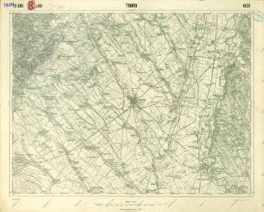 III. vojenské mapování 4659