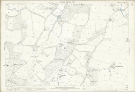 Sussex XXIII.6 (includes: Kirdford; Wisborough Green) - 25 Inch Map