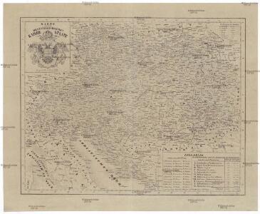 Karte von dem oesterreichischen Kaiser-Staate