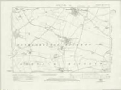 Wiltshire XXII.SW - OS Six-Inch Map