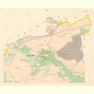 Saustowa - c7153-1-002 - Kaiserpflichtexemplar der Landkarten des stabilen Katasters