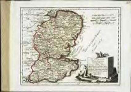 Des Königreichs England östlicher Theil, oder Surrey, Sussex, Kent, Middlessex, Essex