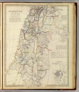 Palestine, adjacent districts