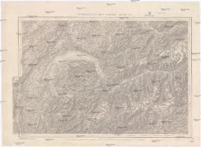 Generalkarte der Schweiz