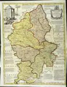 An improved map of the county of Stafford