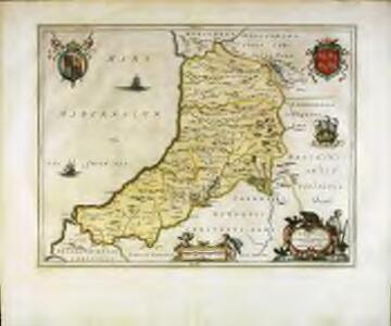 Ceretica; sive Cardiganensis comitatus; anglis Cardigan Shire