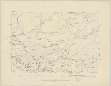 Derbyshire VIII.NE - OS Six-Inch Map