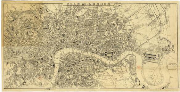 London[Plan of]. Drawn expressly for the Post Office