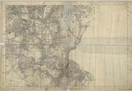 Surrey VIII - OS Six-Inch Map