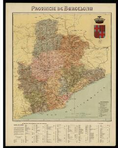 Provincia de Barcelona / per Benet Chías y Carbó, ab colaboració de Antoni Catalá y Joseph Ferrer; S. Poch gbo.; Lit. Martin y Bañó