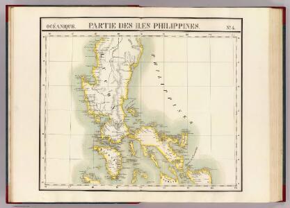 Partie, Iles Philippines. Oceanique no. 4.