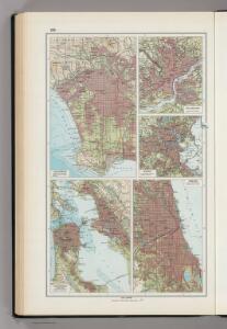 193.  Los Angeles, San Francisco, Philadelphia, Boston, Chicago.  The World Atlas.