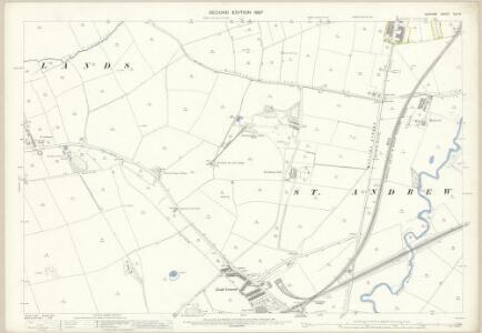 Durham XLII.6 (includes: Bishop Auckland; Shildon) - 25 Inch Map