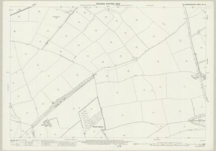Cambridgeshire XLV.16 (includes: Arrington; Bourn; Croydon; East Hatley; Longstowe; Wimpole) - 25 Inch Map