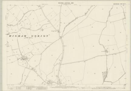 Bedfordshire XXVI.9 (includes: Barton in The Clay; Higham Gobion; Pulloxhill; Silsoe) - 25 Inch Map