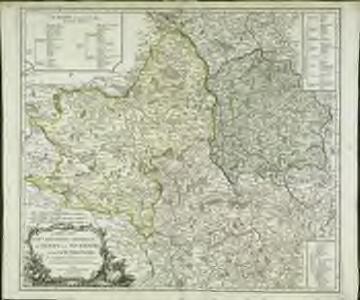 Carte des gouvernemens generaux du Berry, du Nivernois et du Bourbonois