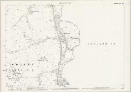 Cheshire XXIX.4 (includes: Chapel en le Frith; Chinley Bugsworth and Brownside; Whaley Bridge) - 25 Inch Map