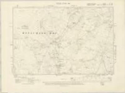Carmarthenshire XX.SE - OS Six-Inch Map