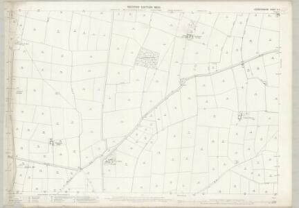 Leicestershire X.5 (includes: Castle Donington; Kegworth; Lockington Hemington; Long Whatton) - 25 Inch Map