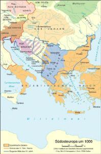 Südosteuropa um 1000