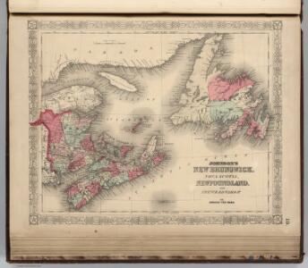 New Brunswick, Nova Scotia, Newfoundland, and Prince Edward Island.