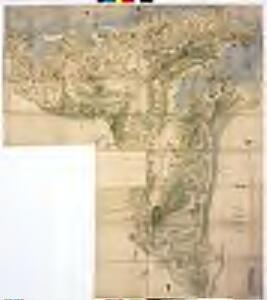 宮津城主京極時代(寛永二年より寛文九年)宮津領及び峰山領大地図