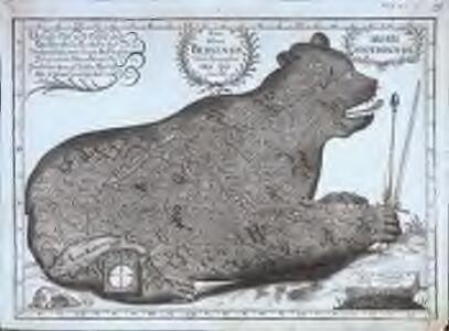 Nova ditionis Bernensis tabula geographica ursi effigie delineata