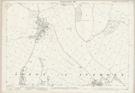 Yorkshire CCXCV.12 (includes: Aston Cum Aughton; Ulley) - 25 Inch Map