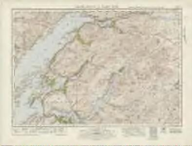 Loch Etive  & Glen Coe (54) - OS One-Inch map