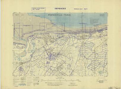 France 12,500 Defences Information as at May 1944