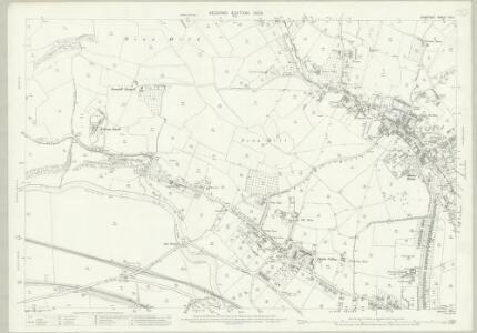 Somerset XIII.4 (includes: Bath; Kelston; Newton St Loe; Weston) - 25 Inch Map