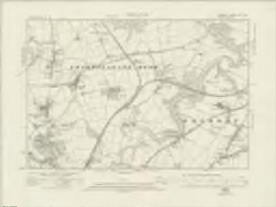 Durham XX.SW - OS Six-Inch Map
