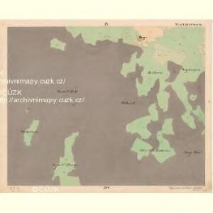 Reiterschlag - c5640-2-004 - Kaiserpflichtexemplar der Landkarten des stabilen Katasters