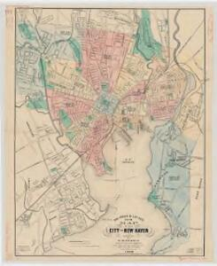 The Price & Lee Co's. new map of the city of New Haven