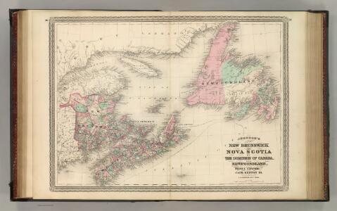 New Brunswick and Nova Scotia.