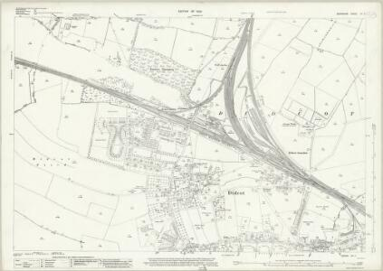 Berkshire XV.7 (includes: Appleford; Didcot; Harwell; Sutton Courtenay) - 25 Inch Map