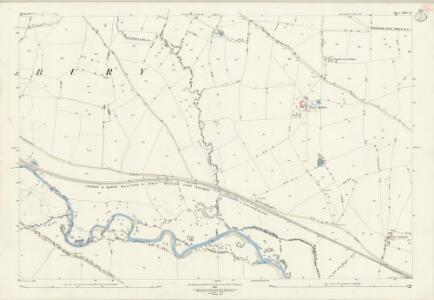 Shropshire LXXI.14 (includes: Bromfield; Onibury; Stanton Lacy) - 25 Inch Map