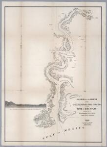 No.4. Sketch from the mouth of the Coatzacoalcos River to the town of Mina-Titlan