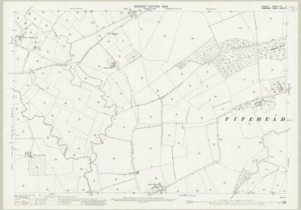 Dorset VII.2 (includes: Fifehead Magdalen; Henstridge; Kington Magna; Marnhull; West Stour) - 25 Inch Map