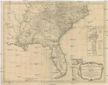 A GENERAL MAP OF THE SOUTHERN BRITISH COLONIES IN AMERICA