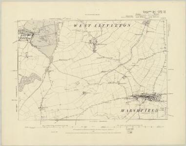 Gloucestershire LXXIII.SW - OS Six-Inch Map