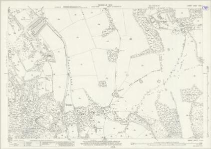 Surrey XXVII.7 (includes: Caterham; Godstone; Woldingham) - 25 Inch Map