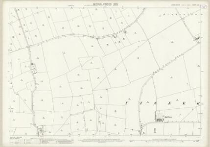 Lincolnshire LXXI.2 (includes: Fiskerton; Reepham) - 25 Inch Map