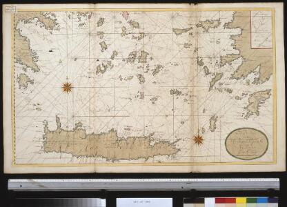 Het zuijderdeel van de Archipel Lagusche Eijlanden int groodt