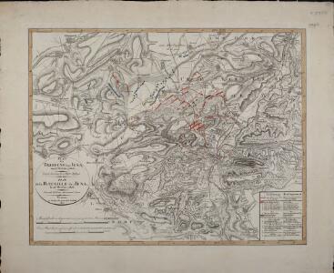 Plan des Treffens bey Jena am 14ten October 1806